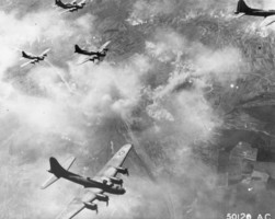 B-17f_formation_over_schweinfurt__germany__august_17__1943_medium