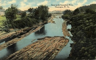 Postcardhuntingtonwvguyandotteriver1912_medium